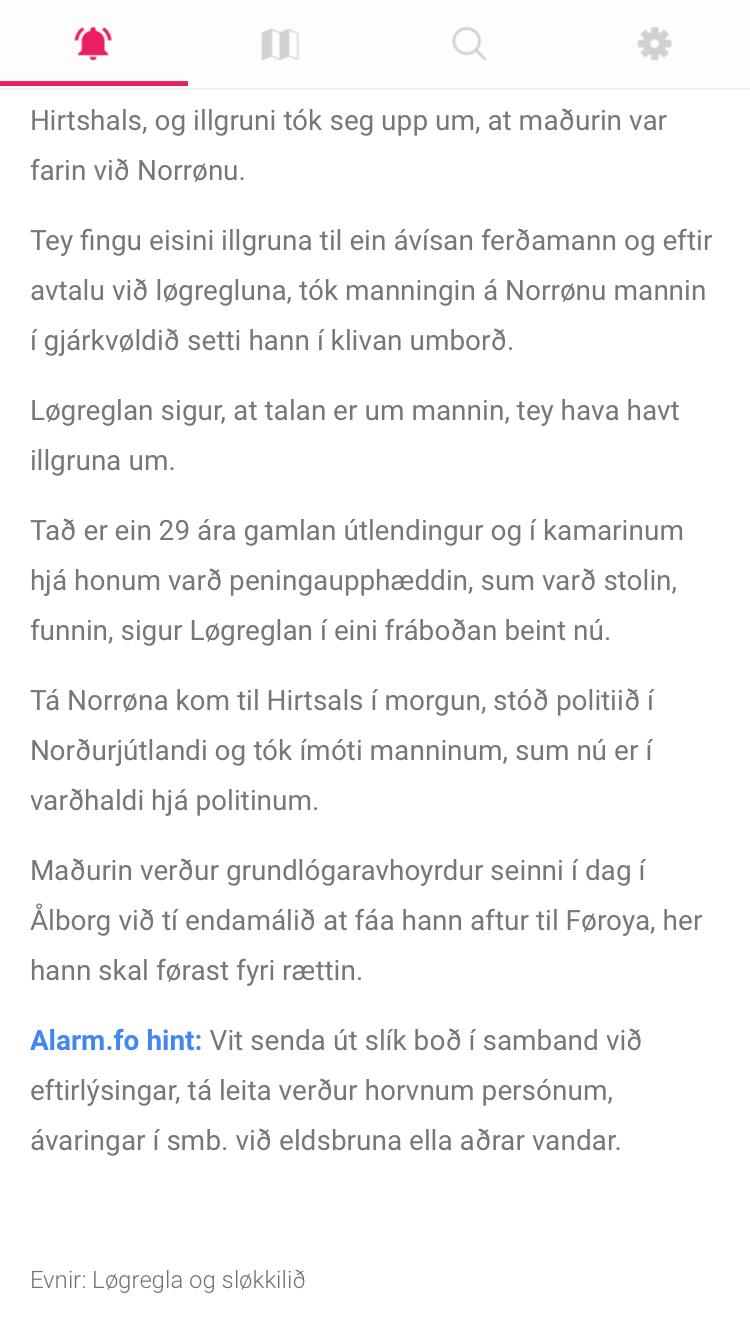 Neyðboð (8)